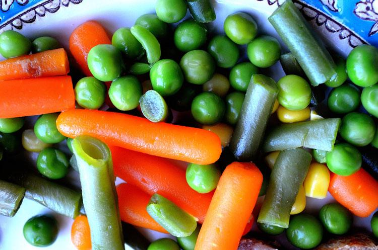 verduras vida sana