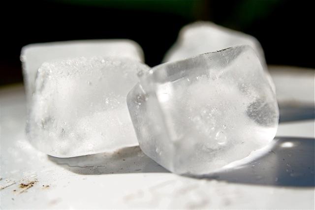 cubitos hielo frío