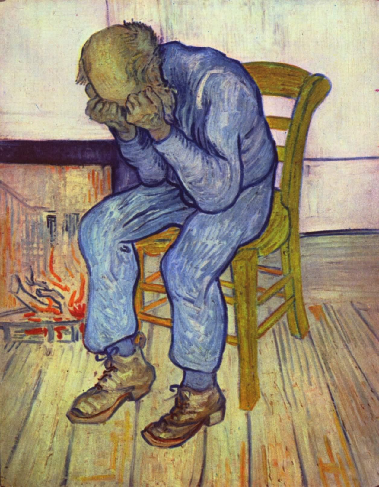 Vincent van Gogh depresión