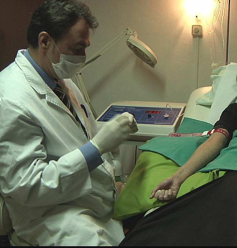 ozonoterapia sesión