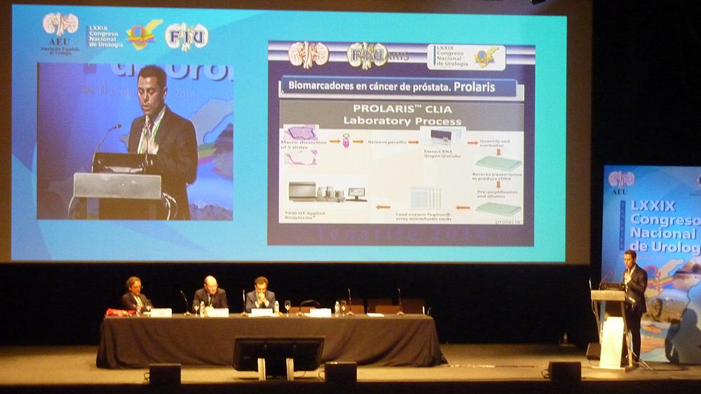 En el Congreso de Urología se ha hablado del test  Fuente: www.farmacosalud.com
