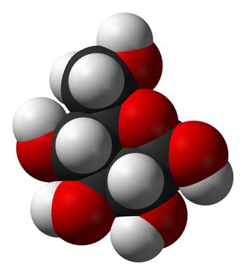 β-D-Glucosa Dominio Público Fuente: Viquipèdia / Wikimedia Commons