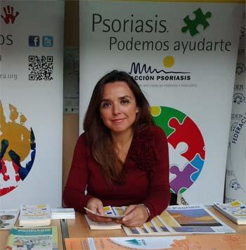 Celia Marín Fuente: Acción Psoriasis