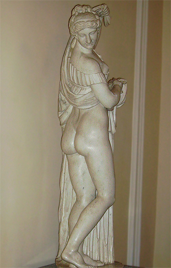 Estatua de Afrodita (Foto modificada) Autor/a de la imagen original: Yair Haklai Fuente: Wikipedia / Kevjonesin