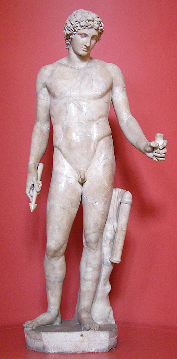 Estatua de Apolo Autor/a de la imagen: Stuart Yeates Fuente: Wikipedia / Flickr / Stefan-Xp