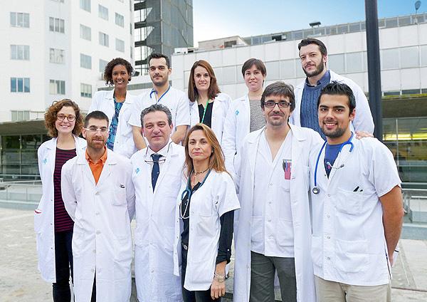Equipo de Cirugía Digestiva y Trasplante del Servicio de Cirugía Pediátrica del Hospital Maternoinfantil Vall d'Hebron Fuente: Hospital Vall d'Hebron