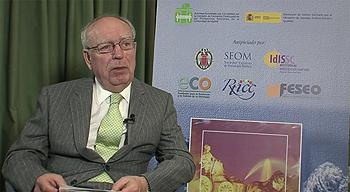 Profesor Eduardo Díaz-Rubio Fuente: Archivo / www.farmacosalud.com