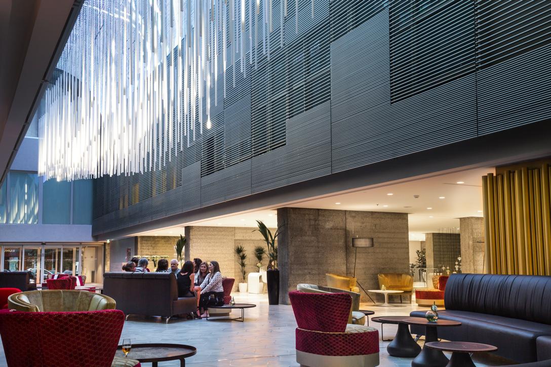 Hall del Hotel NH Eurobuilding