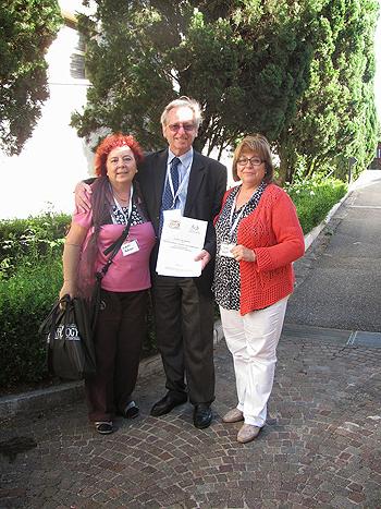 A la derecha de la imagen, y con jersey rojo, Joana Pradas Fuente: Cesión de la foto a cargo de FEDEAL, con la colaboración de la Asociacion Galega de Linfedema