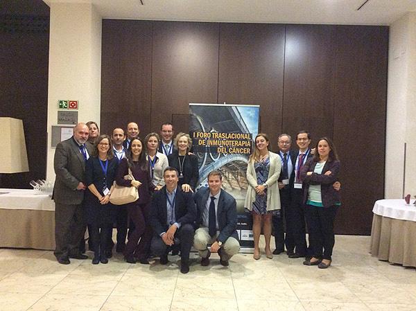 Participantes en el I Foro Traslacional de Inmunoterapia del Cáncer Fuente: MSD / Berbés Asociados