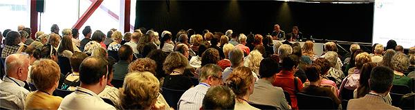 Uno de los momentos del Congreso de Patología Dual celebrado recientemente en Barcelona Fuente: Planner Media