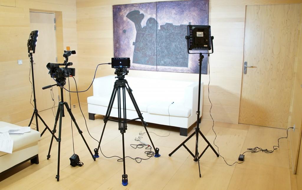 SET DE TV FARMACOSALUD.TV EN SALA VIP
