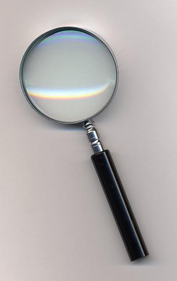 Una lupa Autor/a de la imagen: Tomomarusan (Под лиценцом CC BY 2.5 са сајта Викимедијина остава) Fuente: Wikipedia
