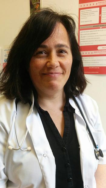 Doctora Pilar Llobet, pediatra especialista en alergia e inmunología  Fuente: Dra. Llobet