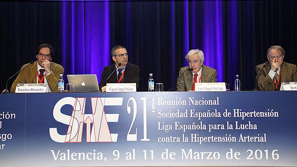 Los ponentes de la sesión Autor/a de la imagen: E. Arandes / www.farmacosalud.com