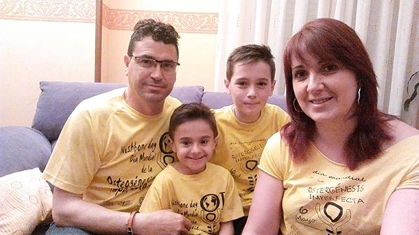 Familia Martínez Contreras Fuente: Nuria Contreras