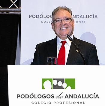 Jorge Barnés Fuente: Colegio Profesional de Podólogos de Andalucía / Euromedia Comunicación