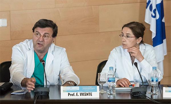 Doctores Emilio Vicente y Yolanda Quijano Fuente: HM Hospitales