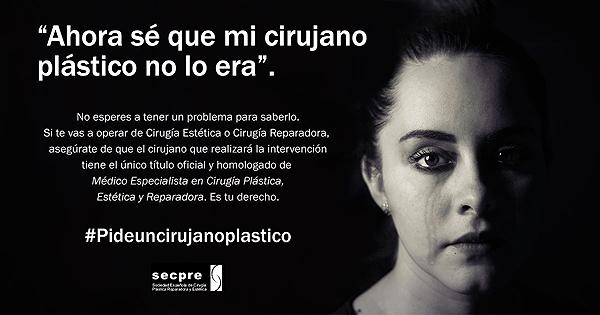 Imagen de la campaña Fuente: SECPRE / Cícero Comunicación