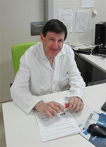 Doctor Elías García Grimaldo Fuente: Dr. Elías García Grimaldo