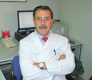 Doctor José Luis González Larriba Fuente: Hospital Clínico San Carlos de Madrid