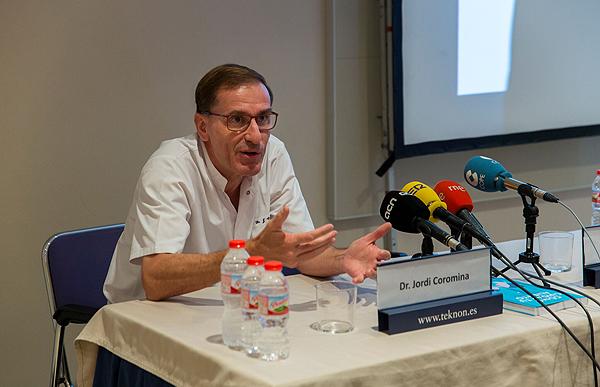 Doctor Jordi Coromina  Fuente: Centro Médico Teknon / Grupo Quirónsalud