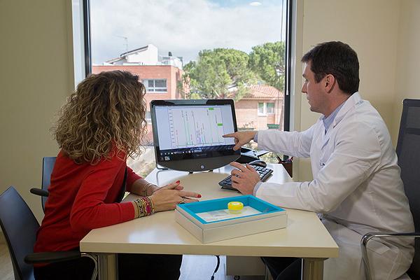 Trabajo desarrollado en la Unidad de Halitosis Fuente: Centro Médico Teknon / Grupo Quirónsalud