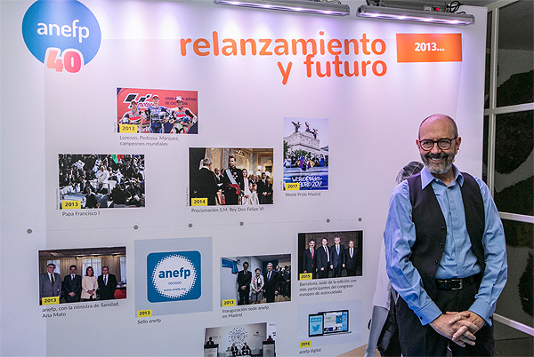 El actor Miguel Rellán, durante su participación en el evento conmemorativo de ANEFP Fuente: ANEFP / Europa Press Comunicación