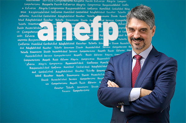 Jaume Pey, director general de ANEFP Fuente: ANEFP