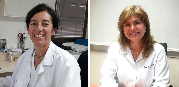 Doctoras Llucia Catot Alemany (a la izq.) y Yaima Guerrero de la Rosa Fuente: Dras. Catot y Guerrero