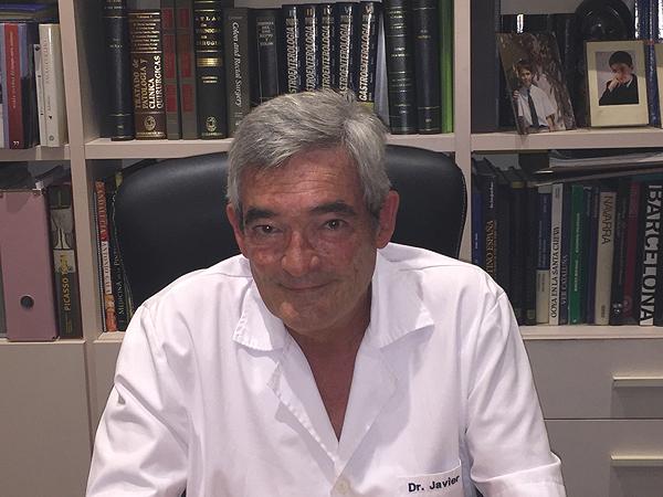 Doctor Javier de Oca Fuente: Dr. De Oca