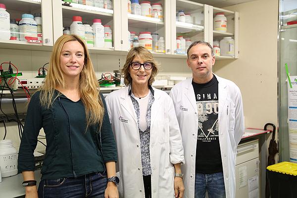 (de izq. a dcha) Dra. Beatriz Bardají, Dra. Anna Meseguer y Dr. Josep Villena Fuente: Hospital Vall d'Hebron