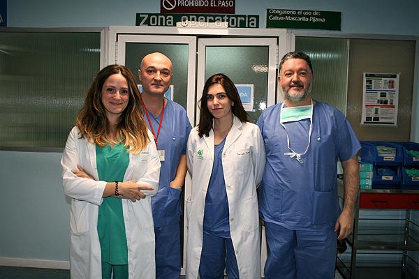 Equipo involucrado en el estudio fetal Fuente: Hospital Universitario Virgen del Rocío de Sevilla
