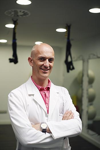 Doctor Alberto Sacristán Fuente: SEMH