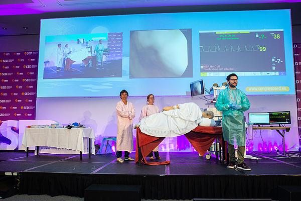 Una sesión del LXXVII Congreso de la Sociedad Española de Patología Digestiva (SEPD) Fuente: SEPD