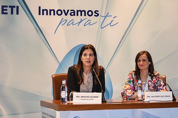Doctoras Mercedes Escarrer y Ana Prieto Fuente: Ramiro Navarro