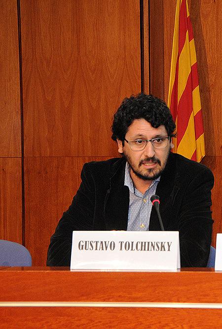 Dr. Gustavo Tolchinsky Fuente: Col·legi de Metges de Barcelona (CoMB) [Colegio de Médicos de Batcelona]
