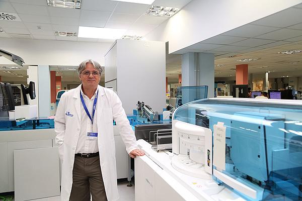 El doctor Francisco Rodríguez Frías Fuente: Hospital Universitari Vall d'Hebron