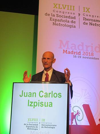 El Prof. Juan Carlos Izpisúa Fuente: Congreso S.E.N. / Euromedia Grupo