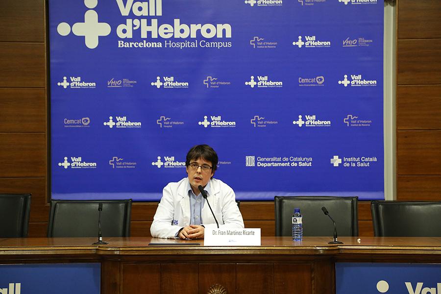 Dr. Fran Martínez Ricarte Fuente: Hospital Vall d'Hebron / VHIR