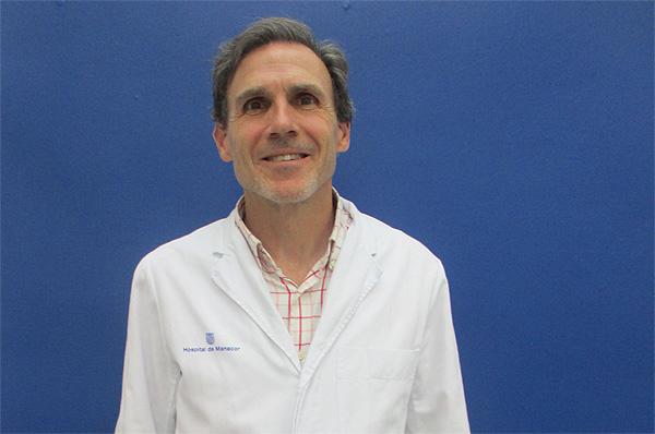 Dr. Vicenç Rocamora Durán Fuente: Dr. Rocamora / Hospital de Manacor