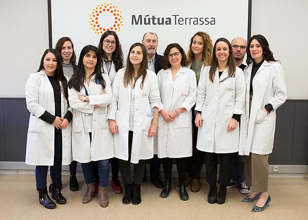 Participantes en el workshop Fuente: Hospital Universitario Mútua Terrassa