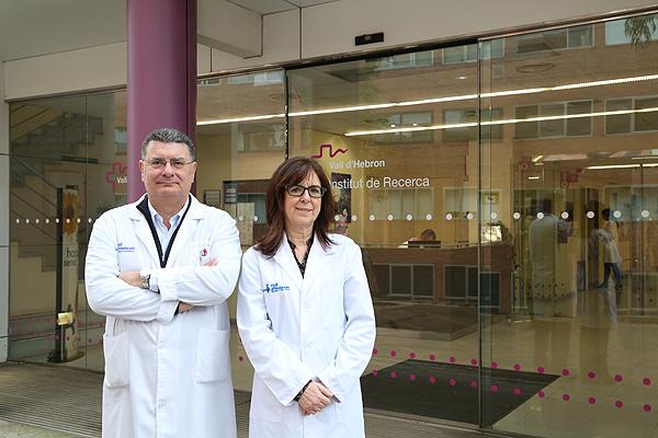 El Dr. Rafael Simó y la Dra. e investigadora Cristina Hernández Fuente: Hospital Vall d'Hebron