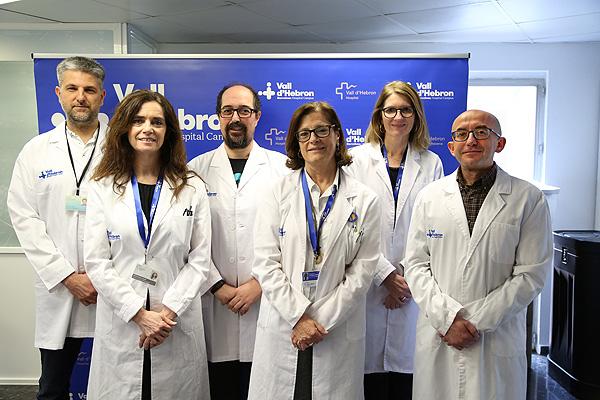 Profesionales médicos que han participado en la elaboración de la guía sobre vacunación frente al VPH en población de riesgo Fuente: Hospital Vall d'Hebron