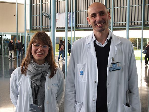 Dra. Elisabet Lerma y Dr. Robert Güerri Fuente: Hospital del Mar