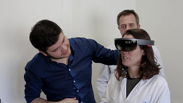 La novedosa realidad aumentada, cerca de usarse en cirugía abierta Fuente: Quirónsalud
