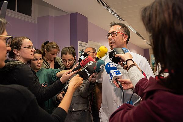 Presentación de las nuevas medidas Fuente: Hospital Clínic