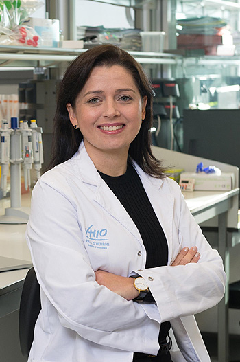 Dra. Leticia de Mattos-Arruda Fuente: Vall d'Hebron Instituto de Oncología (VHIO) / Galènia Comunicació Mèdica