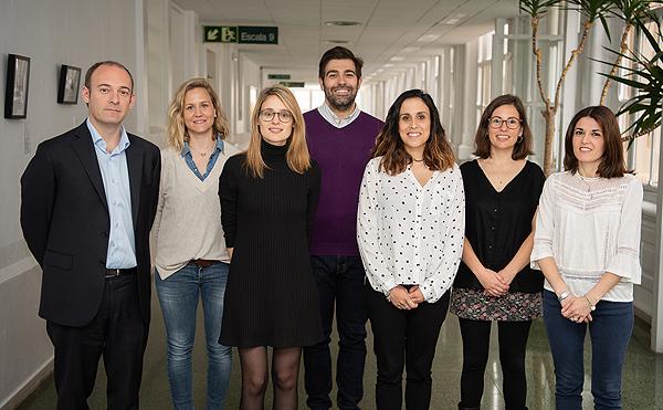 Equipo de investigadores del Clínic-IDIBAPS que han participado en el estudio Autor/a de la imagen: Francisco Avia – Hospital Clínic Fuente: Hospital Clínic