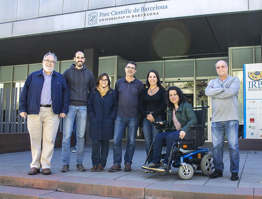 Grupo de investigadores implicados en la plataforma Fuente: Parque Científico de Barcelona (PCB) / Universidad de Barcelona (UB)